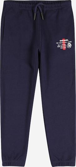 DIESEL Broek 'UMLB-PETERZ' in de kleur Donkerblauw / Rood / Wit, Productweergave