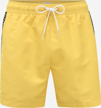 Calvin Klein Swimwear Hose in gelb / schwarz, Produktansicht
