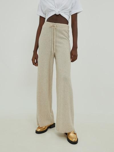EDITED Broek 'Jimena' in de kleur Beige, Modelweergave