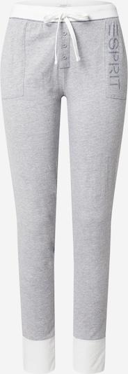 ESPRIT Pyžamové kalhoty 'ALDERCY CAS' - šedá / bílá, Produkt
