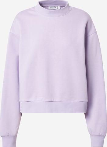 Sweat-shirt 'Amaze' WEEKDAY en violet