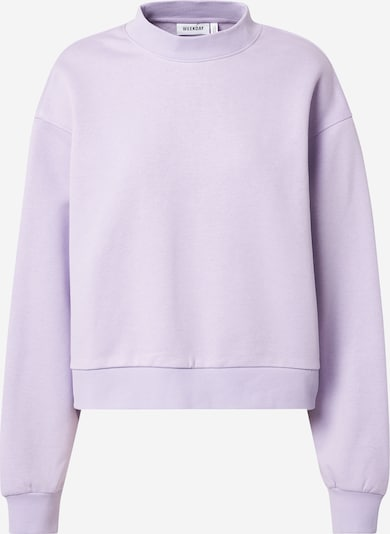 WEEKDAY Sweat-shirt 'Amaze' en violet clair, Vue avec produit