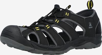 Kamik Sandały 'BYRONBAY2' w kolorze żółty / szary bazalt / czarnym, Podgląd produktu