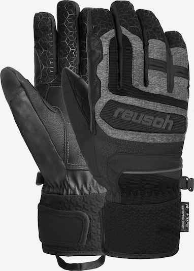 REUSCH Fingerhandschuhe 'Stuart R-TEX® XT' in schwarzmeliert, Produktansicht