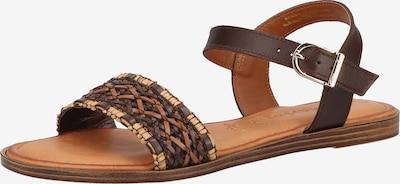 TAMARIS Páskové sandály - karamelová / kaštanově hnědá / cappuccino, Produkt