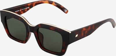 LE SPECS Sonnenbrille 'HYPNOS' in braun / gold / schwarz, Produktansicht