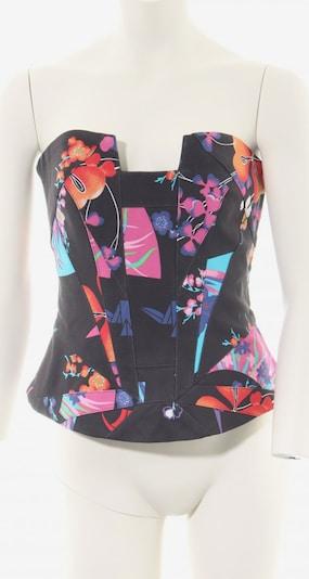 For H&M Corsage in XS in hellorange / pink / schwarz, Produktansicht
