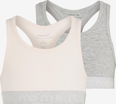 NAME IT BH in graumeliert / rosa, Produktansicht