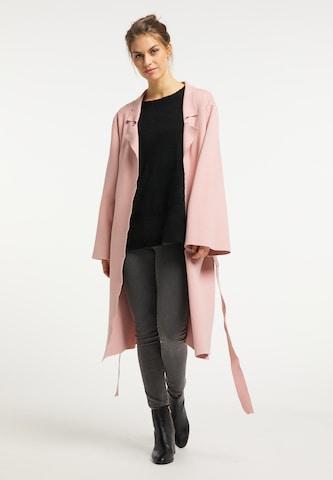 UshaDuži kardigan - roza boja