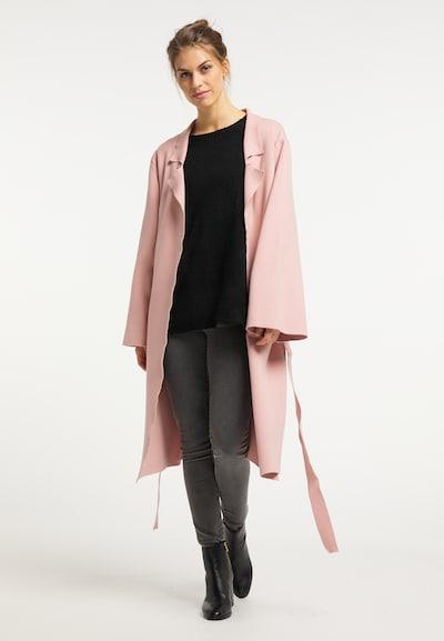Usha Pletený kabát - pastelovo ružová, Model/-ka