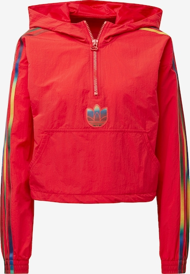 ADIDAS ORIGINALS Sweatshirt in navy / gelb / rot, Produktansicht