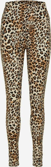 SELECTED FEMME Leopardenprint High Waist Leggings in beige / dunkelbeige / schwarz, Produktansicht