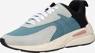 DIESEL Sneaker 'S-SERENDIPITY' in türkis / hellblau / schwarz, Produktansicht