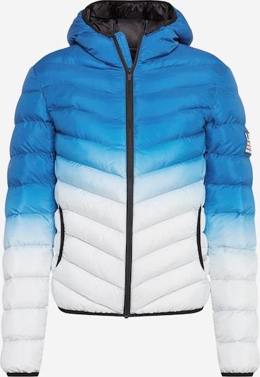 BRAVE SOUL Prijelazna jakna 'GRANTGRAD' u plava / bijela, Pregled proizvoda