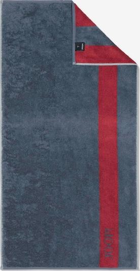 JOOP! Saunatuch in blau / rot, Produktansicht