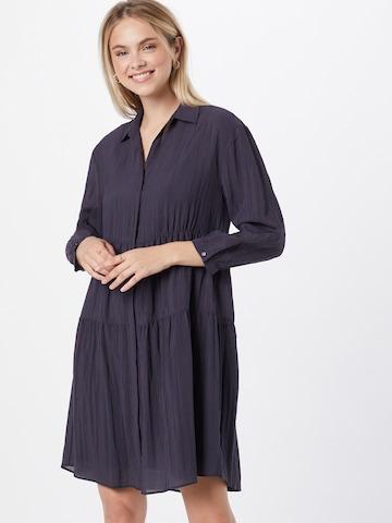 HUGO - Vestido camisero 'Egy' en azul