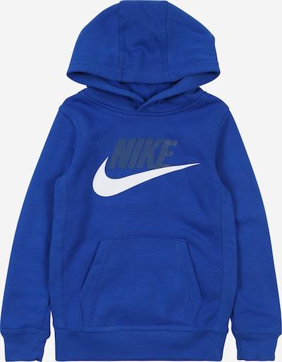 Nike Sportswear Sweatshirt in blau / weiß, Produktansicht