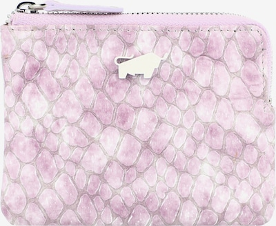 Braun Büffel Geldbörse 'Alma' in lila / weiß, Produktansicht
