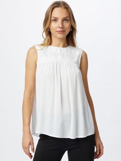 EDC BY ESPRIT Bluse i hvid, Modelvisning