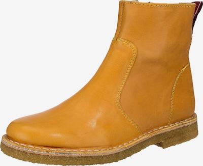 Grünbein Stiefelette in gelb, Produktansicht