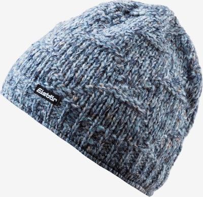 Eisbär Mütze 'Netta' in blaumeliert / schwarz / weiß, Produktansicht