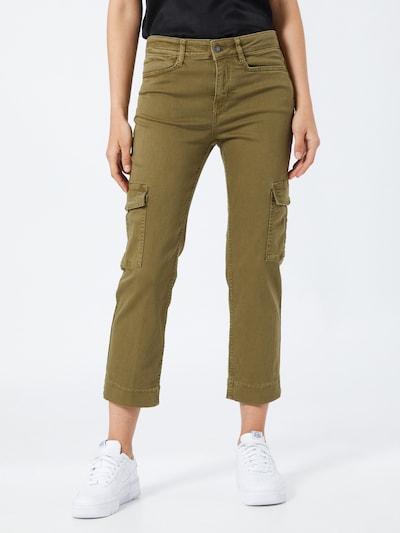 DRYKORN Jeans 'OUTBOUND' in grün, Modelansicht