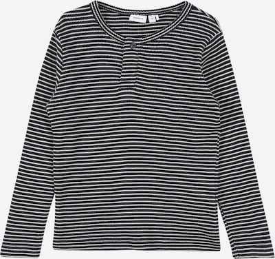 NAME IT Shirt 'SEWOE' in nachtblau / weiß, Produktansicht