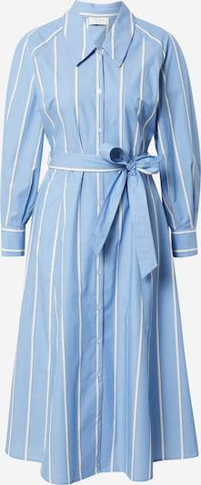 NORR Robe-chemise 'Marcy' en bleu-gris / bleu clair / blanc, Vue avec produit