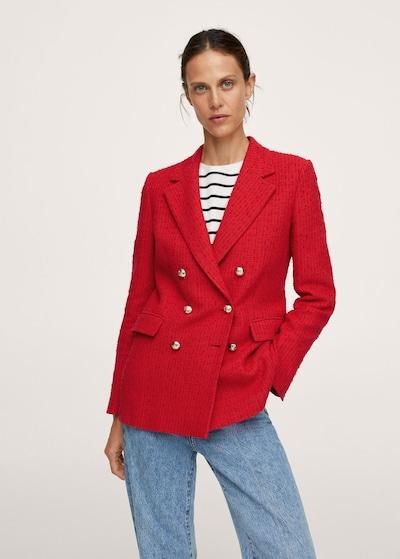 MANGO Blazer in rot, Modelansicht