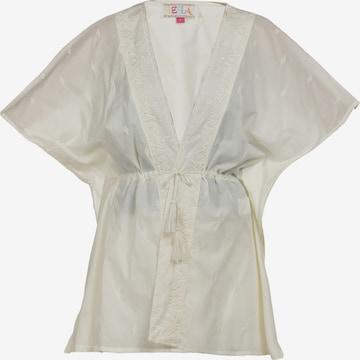 IZIA - Kimono en blanco
