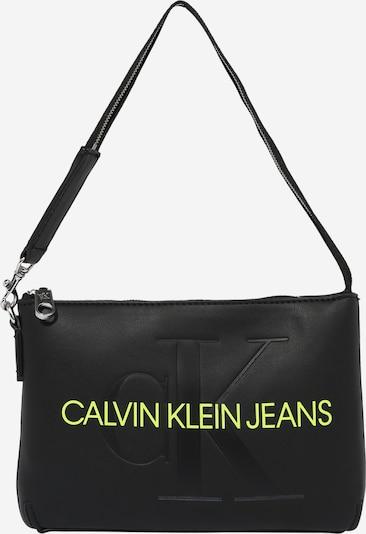 Calvin Klein Jeans Torba za na rame u kivi zelena / crna, Pregled proizvoda