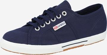Sneaker low '2950 Cotu' de la SUPERGA pe albastru