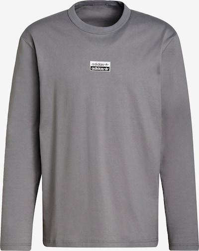 ADIDAS ORIGINALS Shirt in grau / schwarz / weiß, Produktansicht