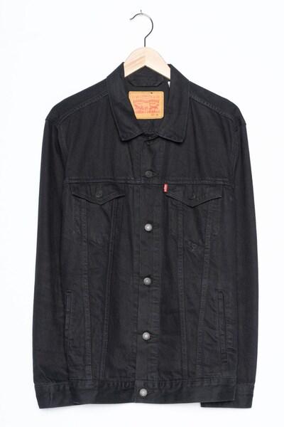 LEVI'S Jeansjacke in XL in black denim, Produktansicht