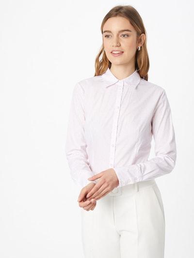 Bluză HUGO pe roz / alb, Vizualizare model
