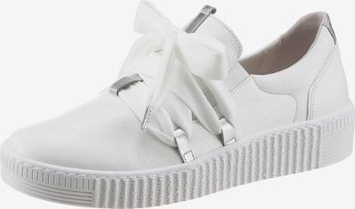 GABOR Sneaker in silber / weiß, Produktansicht