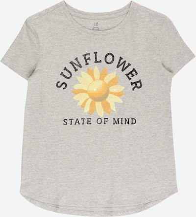GAP T-Shirt en jaune / gris chiné / orange / noir, Vue avec produit