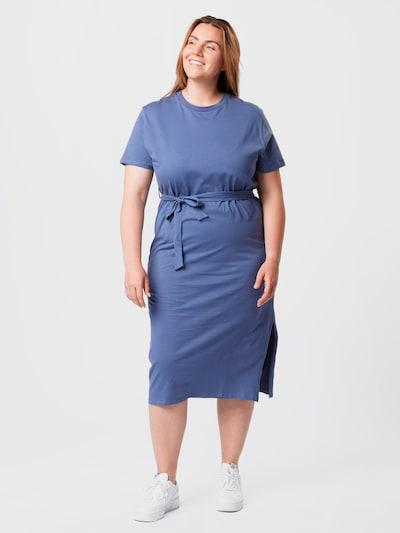 NU-IN Plus Kleid in royalblau, Modelansicht