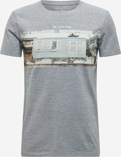 TOM TAILOR DENIM T-Shirt in blau, Produktansicht