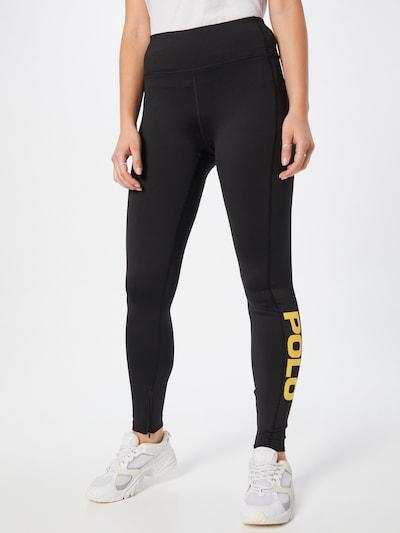 Polo Ralph Lauren Leggings in Navy / Mustard / Red / Black / White: Frontal view
