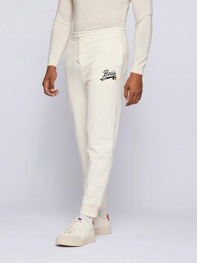 BOSS Pants 'Jafa x Russell Athletics' in Black / White, View model