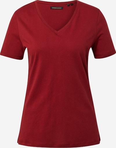 Superdry T-Shirt in weinrot, Produktansicht