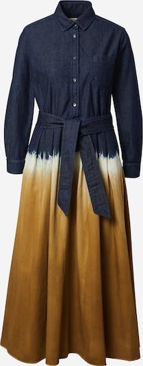 Weekend Max Mara Shirt dress 'DORINA' in dark blue / honey / nature white, Item view