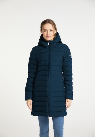 DreiMaster Maritim Winter Coat in Blue