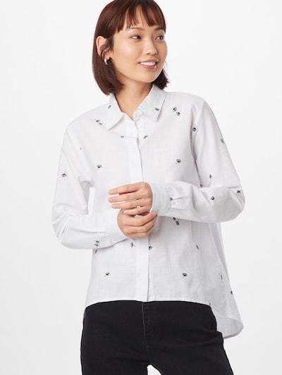 Mavi Bluse 'DANDELION PRINTED SHIRT' in mischfarben / weiß, Modelansicht