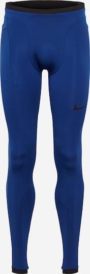 NIKE Sportske hlače u tamno plava / crna, Pregled proizvoda