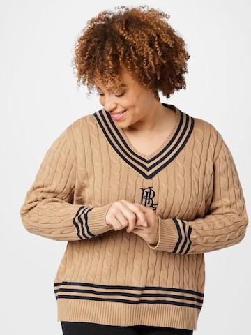 Lauren Ralph Lauren Sweater in Beige