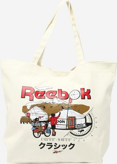 vegyes színek / fehér Reebok Classics Shopper táska, Termék nézet