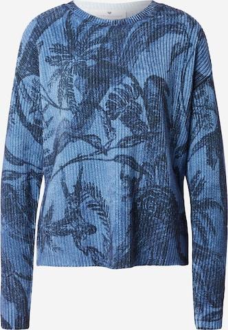 LIEBLINGSSTÜCK Genser 'Karuna' i blå