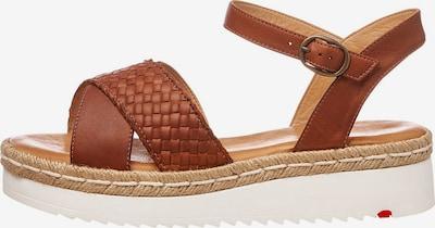 LLOYD Sandale in braun, Produktansicht